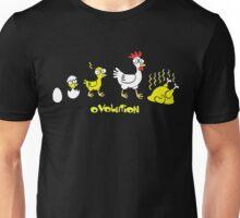 Chicken Evolution Unisex T-Shirt