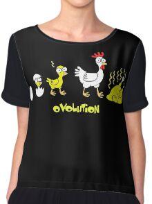 Chicken Evolution Chiffon Top