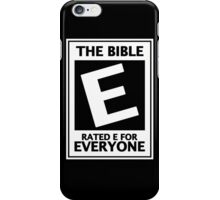 The Bible Rate For Everyone, Gift For Christian iPhone Case/Skin