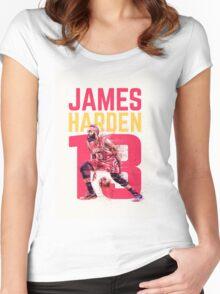 James Harden- Houston Rockets Women's Fitted Scoop T-Shirt