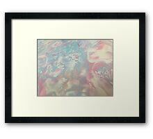Pantone Blend Framed Print