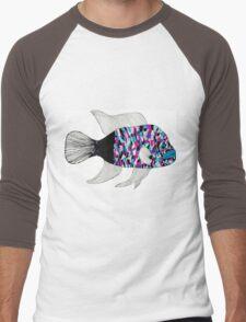 Colorful fish Men's Baseball ¾ T-Shirt