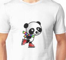 Skating Panda Unisex T-Shirt