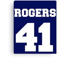 Rogers Canvas Print