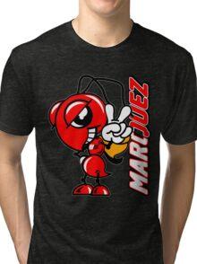 Marc marquez, Motogp biker, ant and name logo Tri-blend T-Shirt