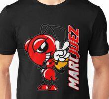 Marc marquez, Motogp biker, ant and name logo Unisex T-Shirt