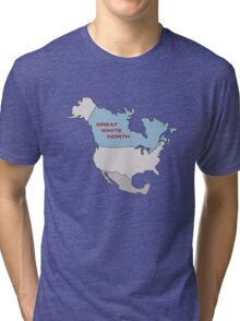 Great White North Tri-blend T-Shirt