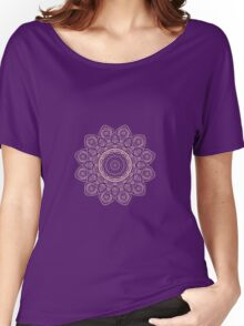 Lavender Tulips Women's Relaxed Fit T-Shirt