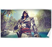 Assassin's Creed Edward Poster
