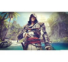 Assassin's Creed Edward Photographic Print