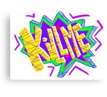 Kill Me!!!!! Canvas Print