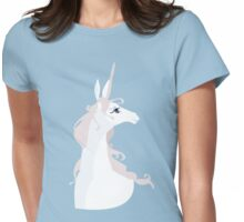 The Last Unicorn Womens Fitted T-Shirt