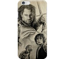 The King's battle iPhone Case/Skin