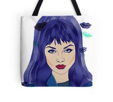 Cold Wave Tote Bag