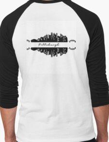 Pittsburgh Skyline Men's Baseball ¾ T-Shirt