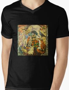Harlequin Mens V-Neck T-Shirt
