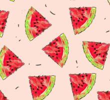 Watermelon Juicy Fruit Tasty Summer Pattern Sticker