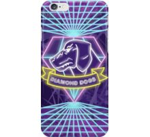 Metal Gear Solid Diamond Dogs 80s Synthwave iPhone Case/Skin