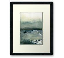 ocean landscape Framed Print