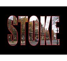Stoke Photographic Print