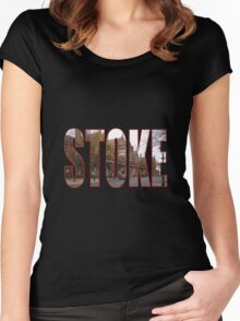 Stoke Women's Fitted Scoop T-Shirt