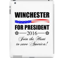 Supernatural SPN 2016 Election Parody iPad Case/Skin