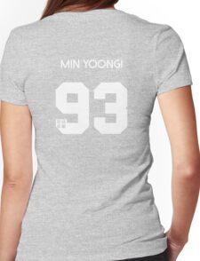 Min Yoongi (Suga) Real Name BTS Member Jersey HYYH Womens Fitted T-Shirt