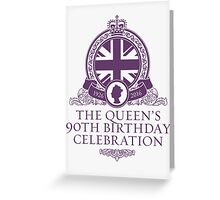 Queens 90th Birthday 2016 Greeting Card