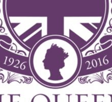 Queens 90th Birthday 2016 Sticker