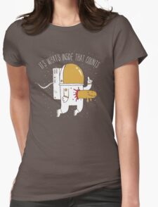 Space Sucks Womens Fitted T-Shirt