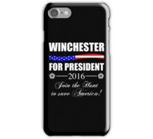 Supernatural SPN 2016 Election Parody iPhone Case/Skin