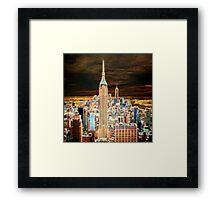 NYC NightScape Framed Print