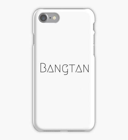 BTS B&W iPhone Case/Skin