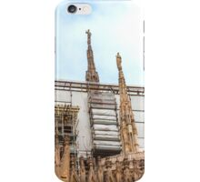 thousands of statues. Duomo de Milano. iPhone Case/Skin