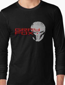 Gray Fox Long Sleeve T-Shirt