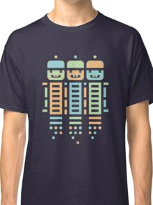 Acorn Rocket Bots Multi Classic T-Shirt