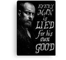 Black Sails - Every Man is Lied... Canvas Print