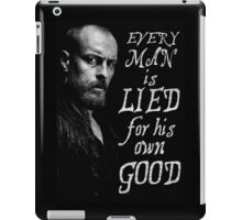 Black Sails - Every Man is Lied... iPad Case/Skin