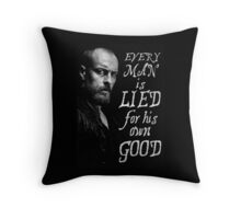 Black Sails - Every Man is Lied... Throw Pillow