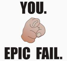 Epic Fail One Piece - Long Sleeve