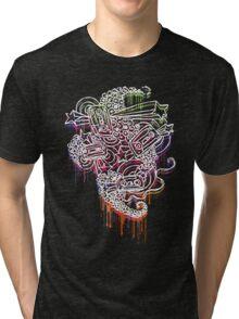 Mixtape Graffiti  Tri-blend T-Shirt