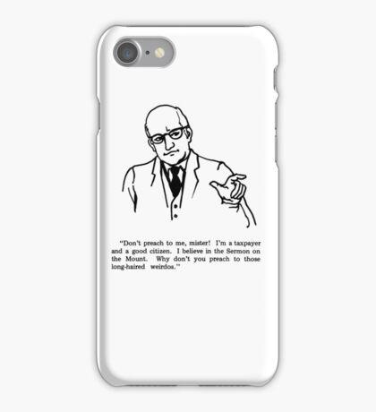 Don't Preach iPhone Case/Skin