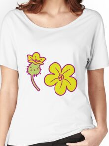 Watermelon Blossoms Women's Relaxed Fit T-Shirt