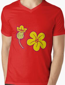 Watermelon Blossoms Mens V-Neck T-Shirt