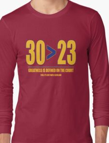 30 > 23 | Curry > James Long Sleeve T-Shirt