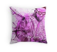 Biggie Smalls - Gimme The Loot  Throw Pillow