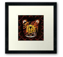 Kindly Tiger Framed Print