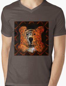 Kindly Bear Mens V-Neck T-Shirt