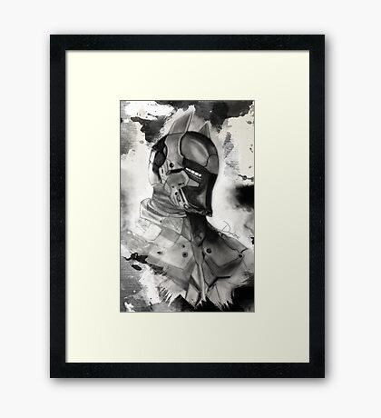 Arkham Knight  Framed Print