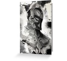 Arkham Knight  Greeting Card